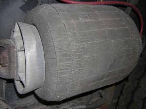 cracks in air suspension system airbag